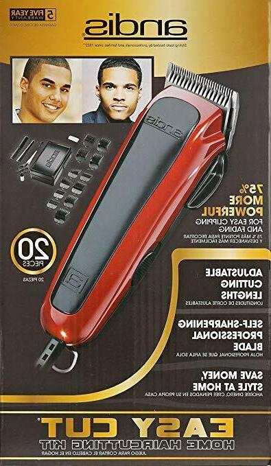 Andis Professional Set Shaver Clipper Trimmer 20-Piece Hair Kit NEW