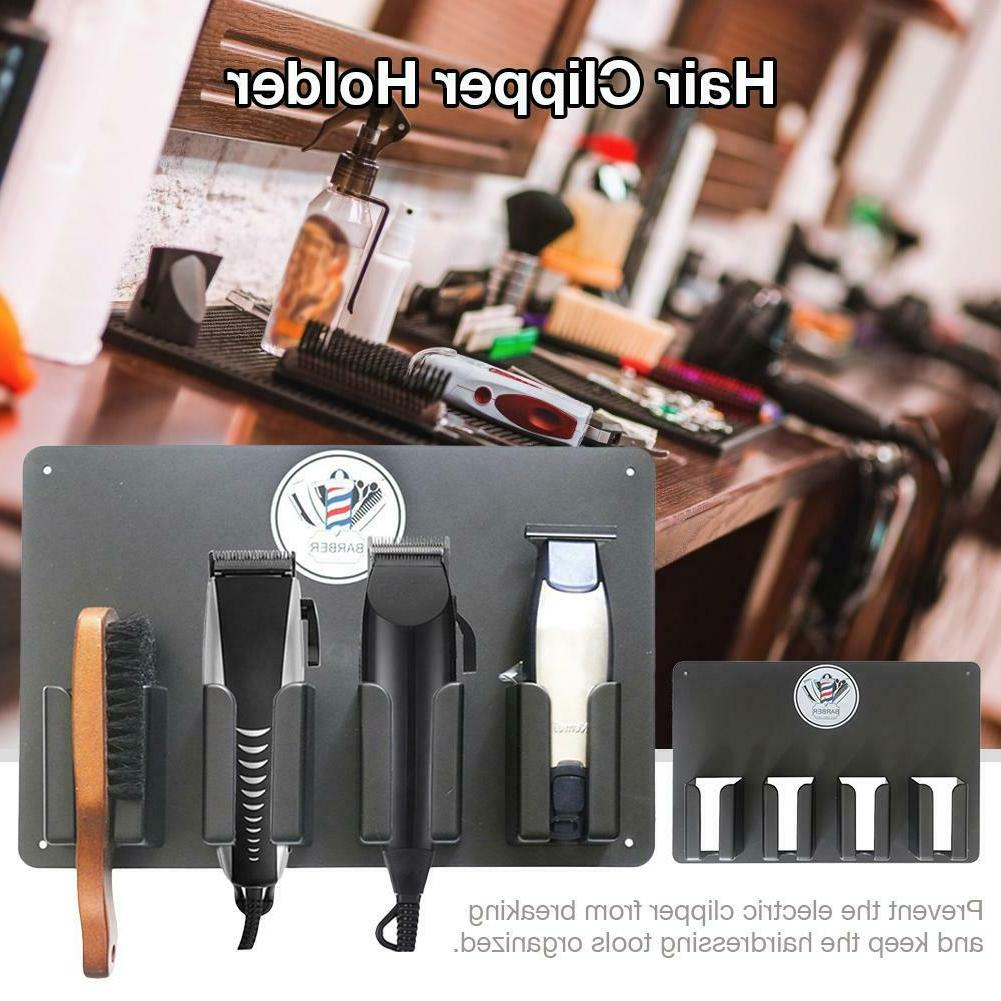 hair electric clipper holder barber storage stand