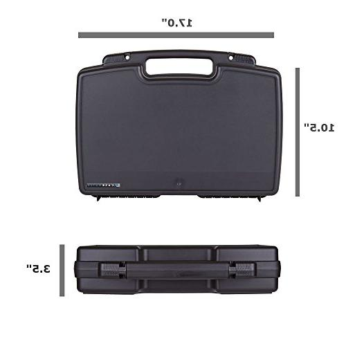 HAIRCUT Case With Clipper, For Stylist or Barber holds Wahl, Andis and Cordless Clippers, Blades, Comb and Hair Accessories