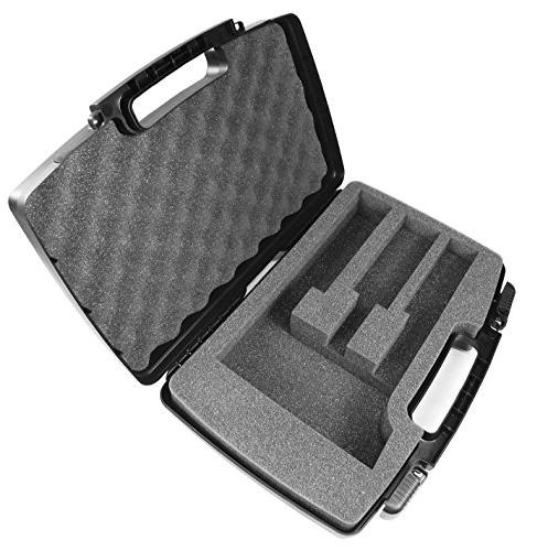 HAIRCUT Kit Case Compatible With Trimmer, For holds Oster Wahl, and Cordless Clippers, Blades, Comb and