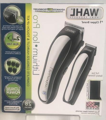 lithium ion cordless rechargeable hair clipper trimmer