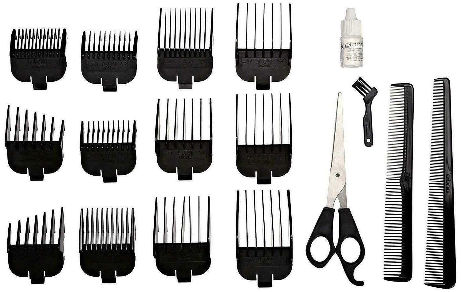 Men Professional Hair Clippers Andis Cutting Kit Machine