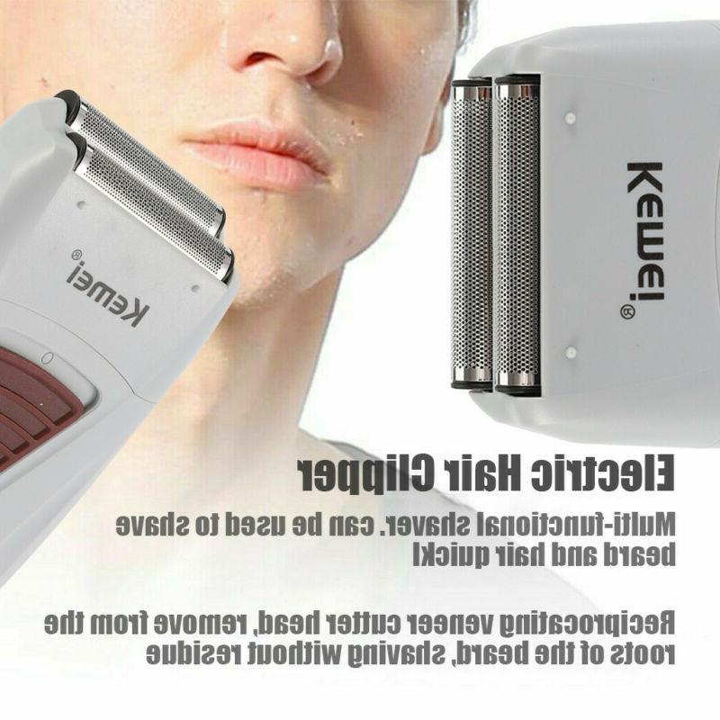 Men's Electric Beard Trimmer Hair Machine Rechargeable