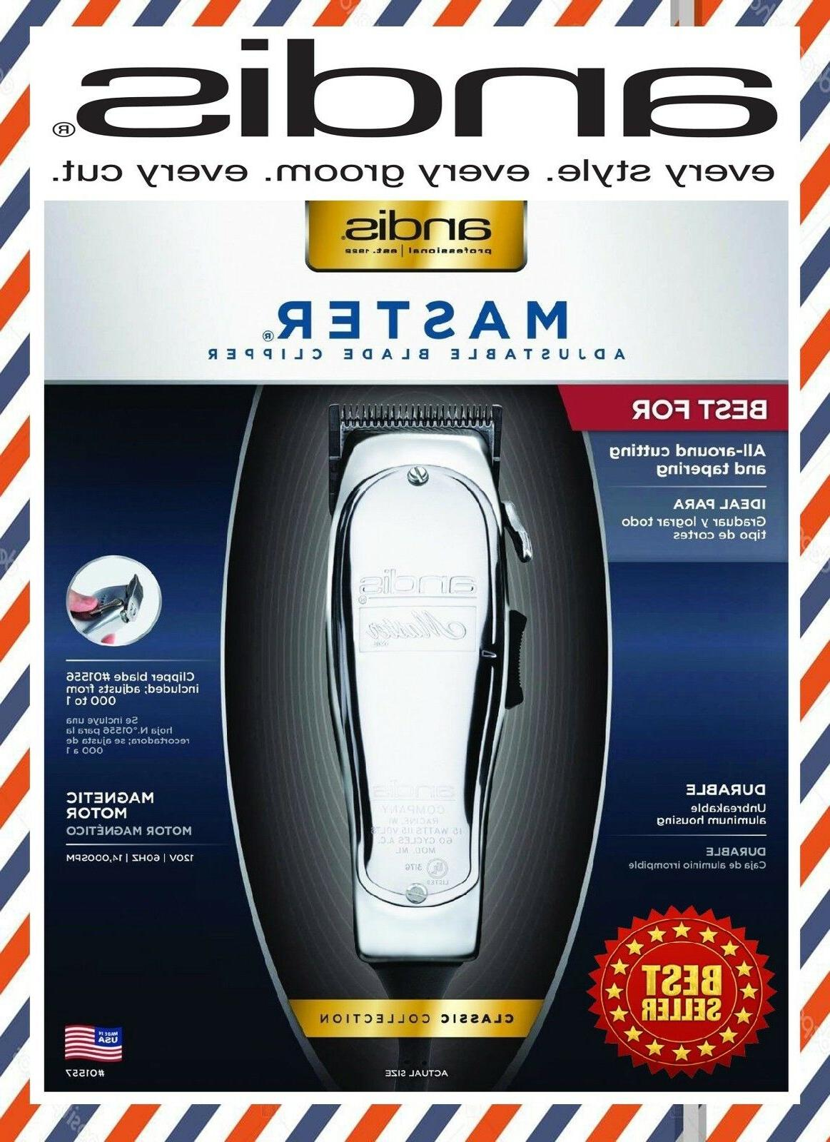 new 01557 master hair clipper