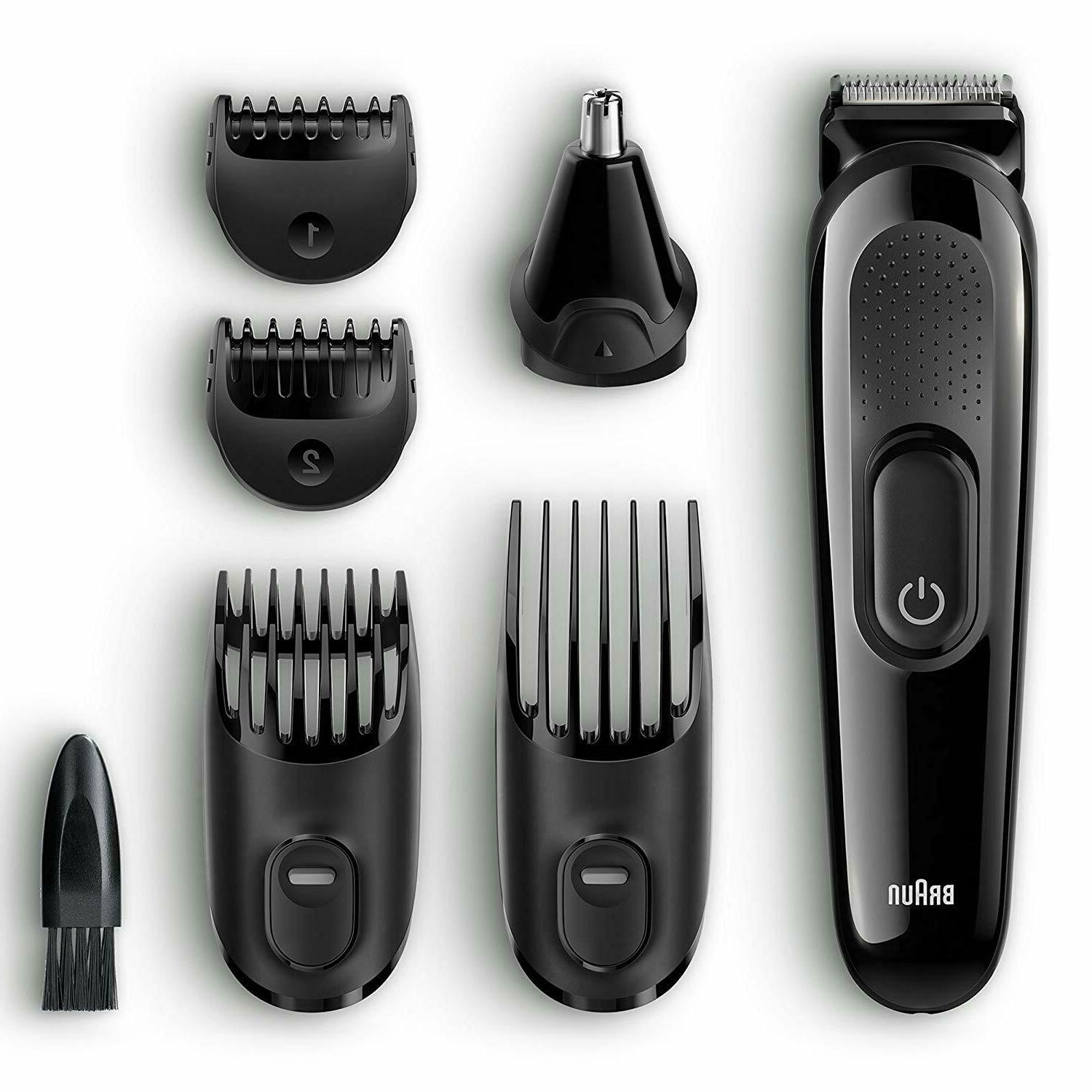 Braun Beard Trimmer Cordless Men Precision Hair Ear Nose Cli