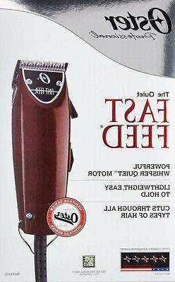 NEW! SEALED! Oster Fast Feed Adjustable Pivot Motor Clipper