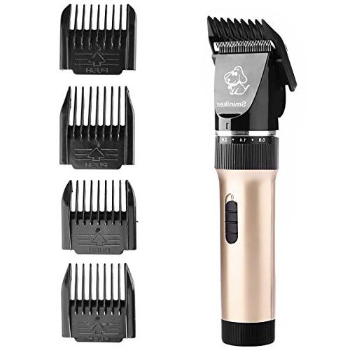 Sminiker Rechargeable Dog Clippers Professional Pet Clippers clippers Pet