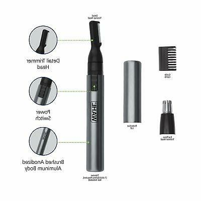 Wahl Micro Groomsman Personal Pen Trimmer & Detailer for Hyg