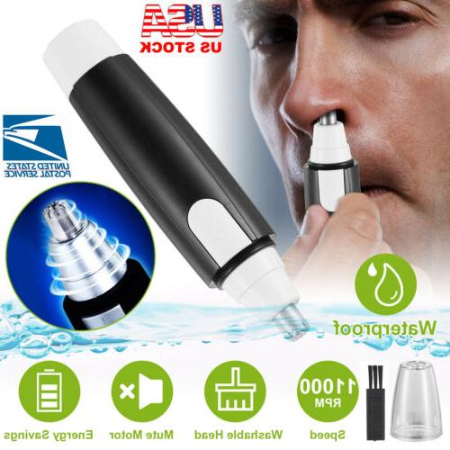 nose hair trimmer nose and ear eyebrow