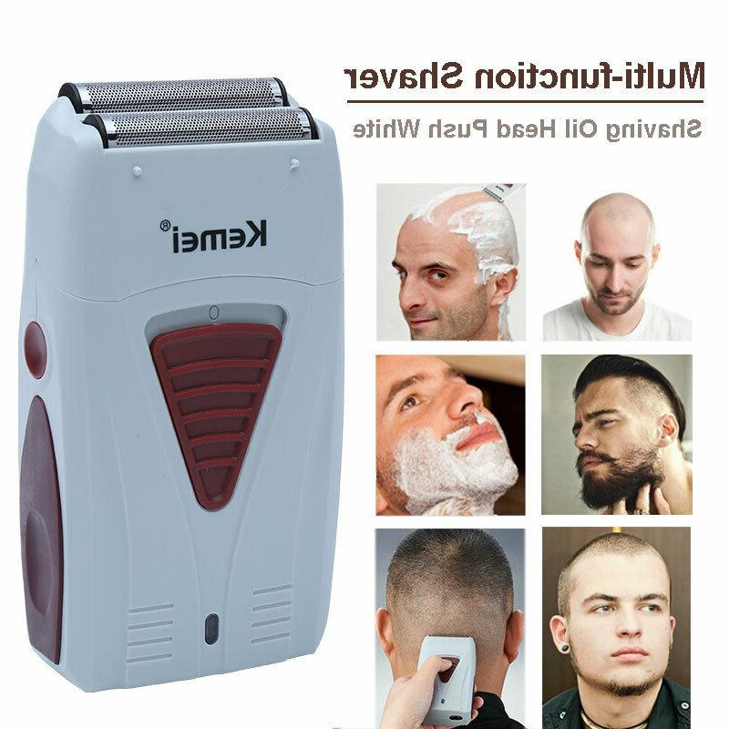 Kemei Oil Hair Clippers Set Trimmers