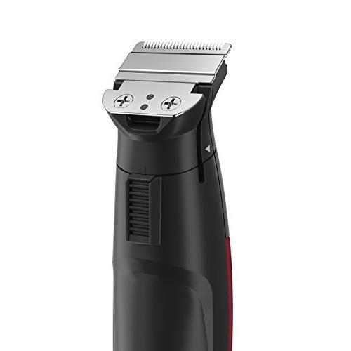 Remington Toe Lithium Trimmer Kit with Stainless Steel & Red