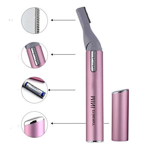 EYX Formula Pink Lady Eyebrow Trimmer Remover with For