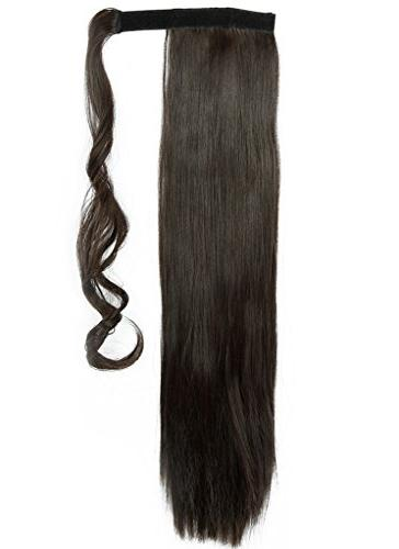 Haironline Around Ponytail in Extensions Piece Paste Tail Long Soft