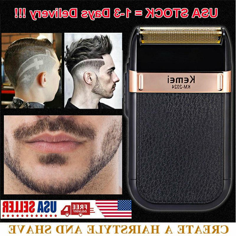 Kemei Oil Hair Clippers Deluxe Barber Set