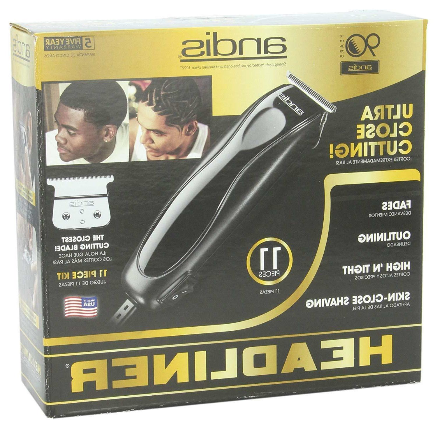 Andis Professional Barber Beard Hair Trimmer Clipper Tool