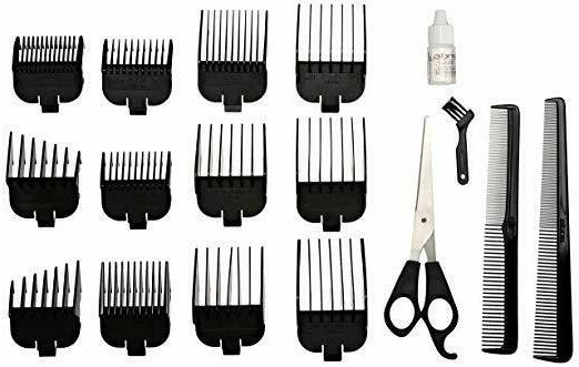 Andis Professional Barber Shaver Trimmer 20-Piece Hair Kit