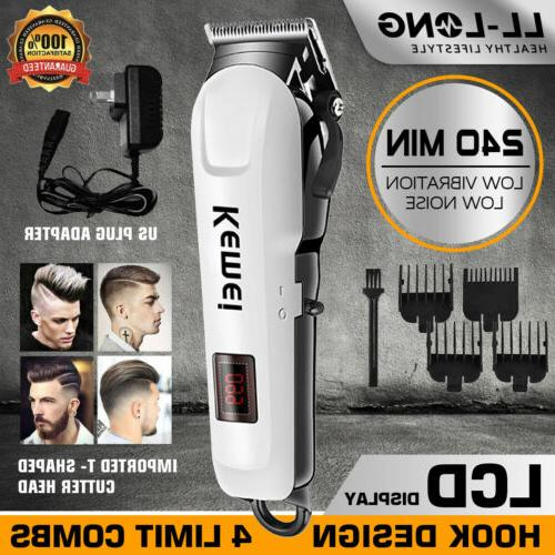 professional hair clippers trimmer kit men cutting