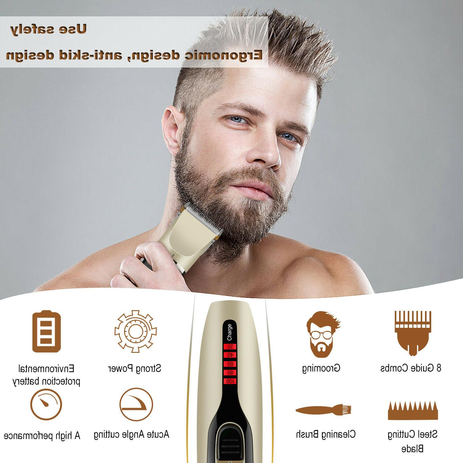 Professional Hair Clippers Mens Barber kit Machine