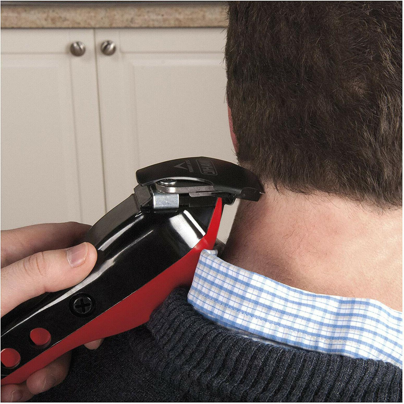 Wahl Professional Machine Clippers Kit Red