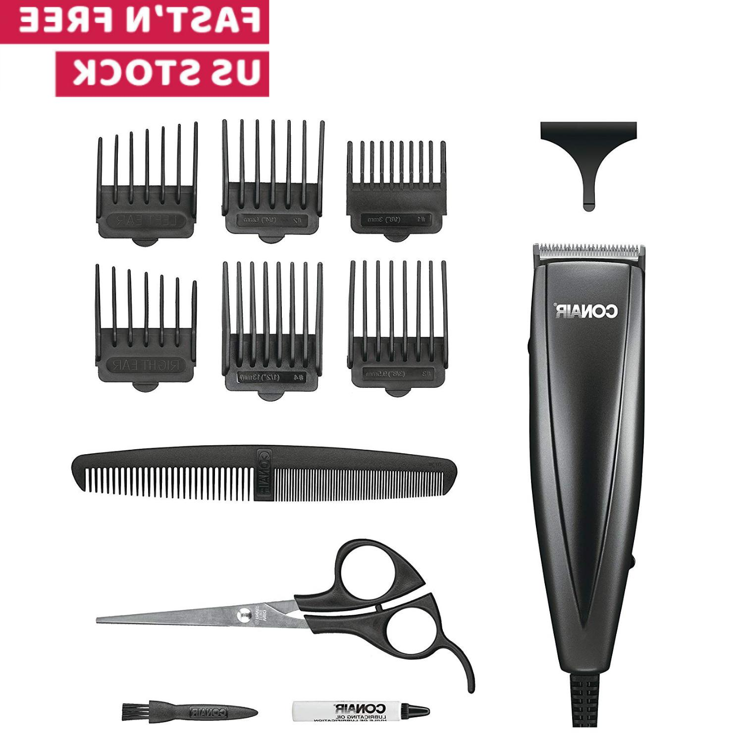 PROFESSIONAL HAIR CUT Machine Clippers Trimmer Kit Barber Sa