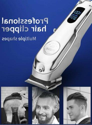 🇺🇸 Professional Men's Hair Clippers. FAST USA. Blade