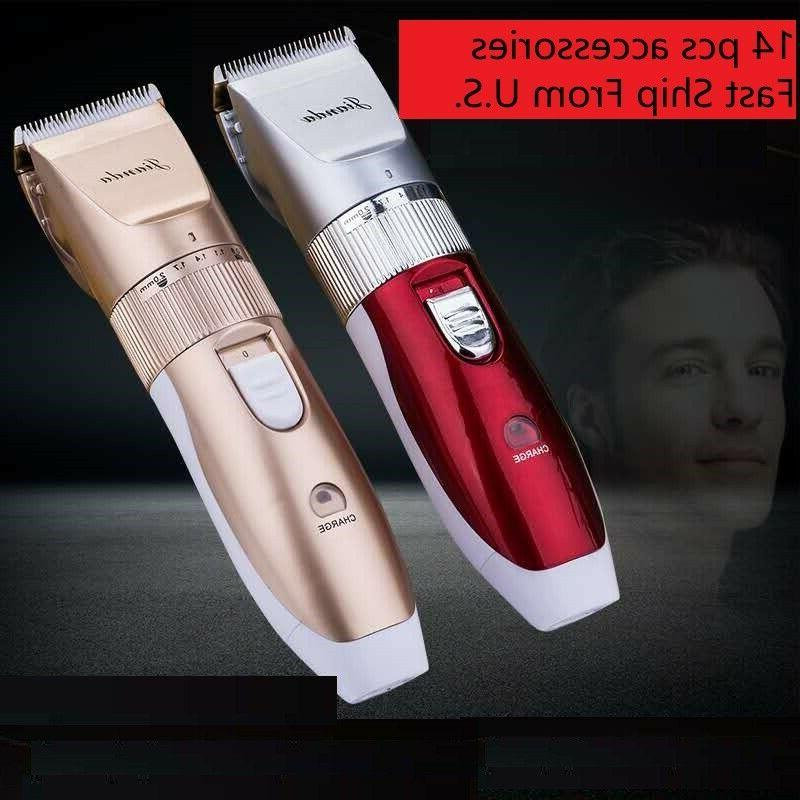 Professional Rechargeable trimmer Men Beard Grooming Kit