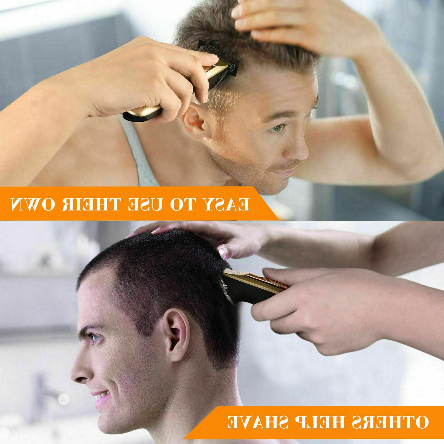Professional Rechargeable trimmer Men Grooming Kit
