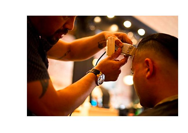 Andis Trimmer with Barber Clippers