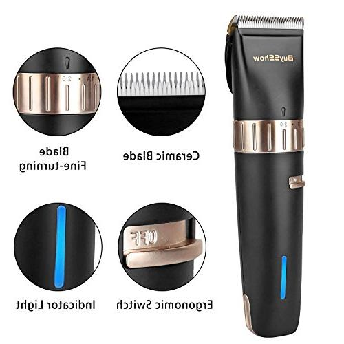 Hair clippers for and Charging Dock,8 Comb Scissors, Hairdressing