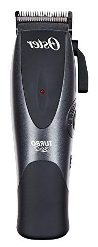 Oster Rechargeable Hair Clippers with All NEW TURBO BOOST Te