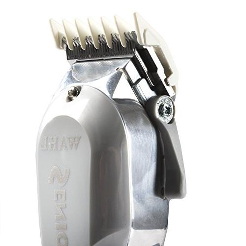 Wahl Senior #8500 Electromagnetic Clipper with Motor for Barbers and Stylists – Perfect Tapering, Fades, Blends