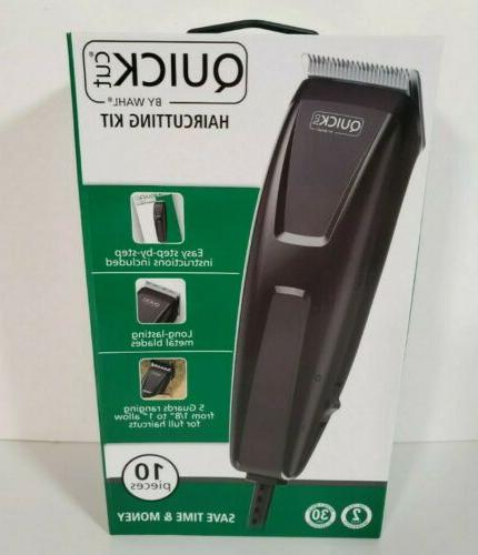 ⚡SHIPS FREE ⚡NEW WAHL Quick 10 Piece Clippers