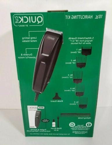 ⚡SHIPS WAHL Quick Cut 10 Piece Kit Clippers