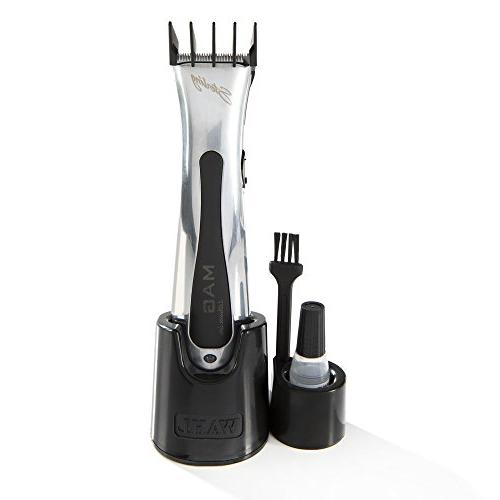 Wahl Sterling Trimmer for Professional Stylists and Rotary Motor Silver