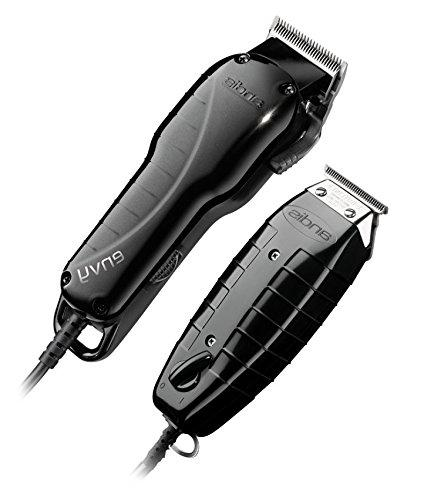 Andis Stylist High-speed adjustable blade T-Outliner with fine shaving, outlining With BeauWis Blade Brush
