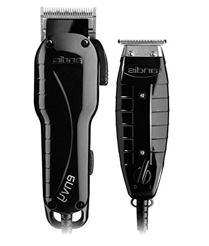 Andis adjustable clipper blade T-Outliner T-blade trimmer fine shaving, outlining With Brush