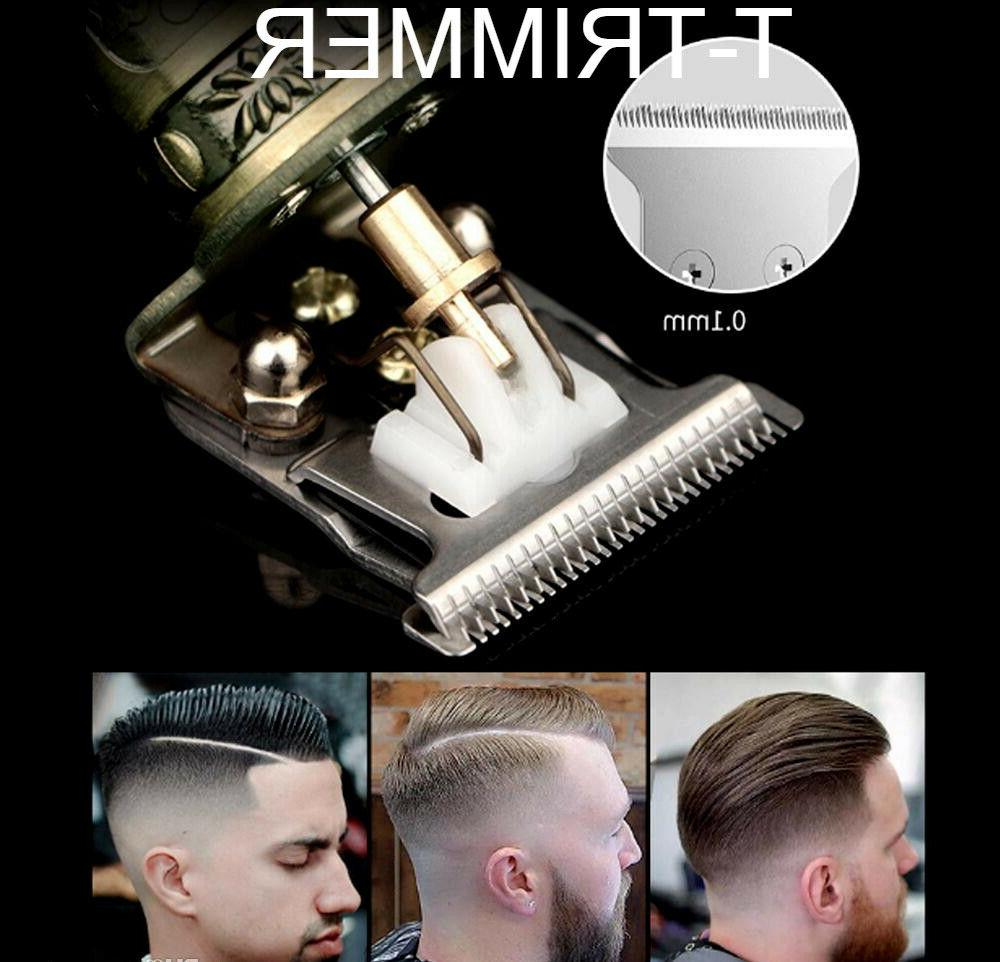 T-Trimmer Clippers Barber Powerful Metal Copper