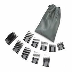 Oster Universal Hair Clipper Comb Attachments- 10pc Pouch Se