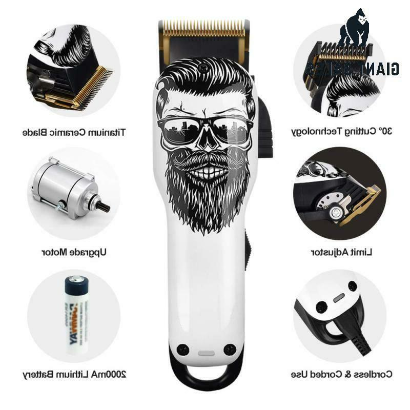 Upgraded Cordless Hair Clippers Professional Hair