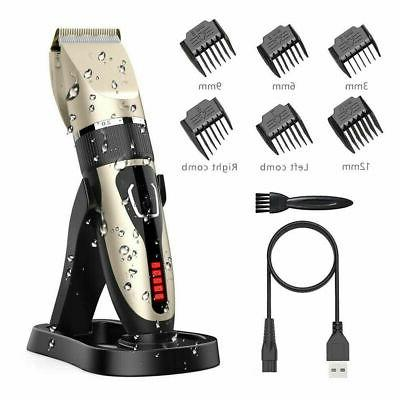 Electric Mens Shavers Hair Clippers Trimmers Beard Cutting M