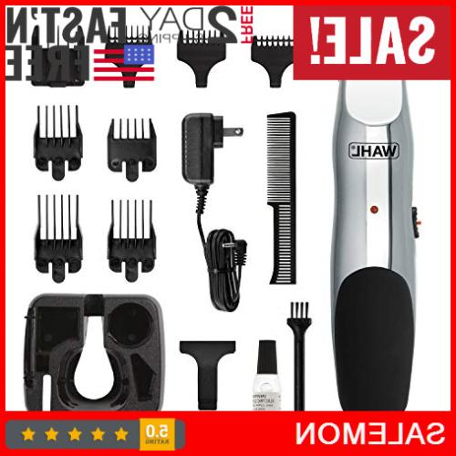 wahl rechargeable hair clippers beard moustache cordless