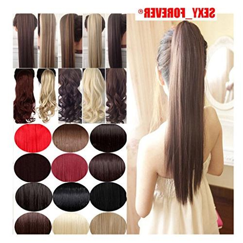 Wrap Around Days Clip in Hair Extensions One Long Wavy Curly Soft Silky for Women Fashion Beauty