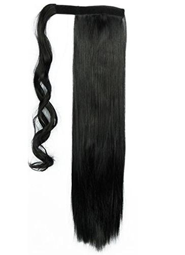 Wrap 3-5 Days Clip One Piece Paste Long Wavy Curly Soft Silky for Fashion and