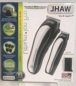Wahl Lithium Ion Cordless Rechargeable Hair Clipper/Trimmer