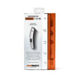 Conair Man Rechargeable All-In-1 Trimmer - Silver- Electric