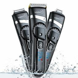 Hatteker Men's Pro Hair Trimmer Hair Clippers Beard Trimmer