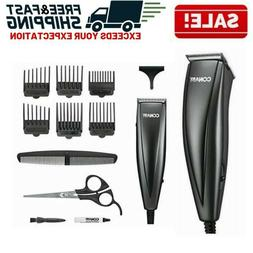 Mens Professional Hair Clippers Trimmer Machine Kit Tools Gr
