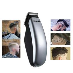 Mini Electric Hair Clipper Trimmer Cleaning Brush Dry Batter