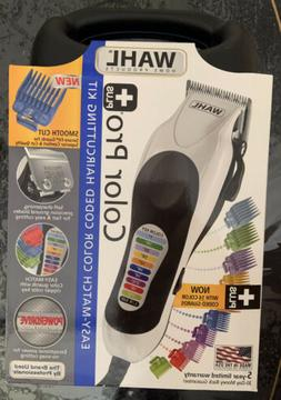 New Wahl Color Pro PLUS Haircutting Clippers 22 Piece Kit 79