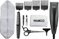 New! Conair Hair Clipper Kit 12 Piece Trimming Simple Set St